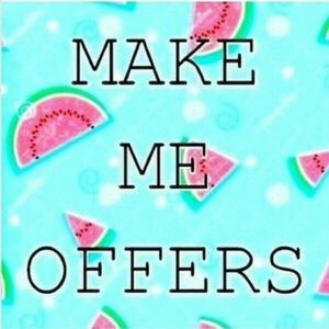 Reasonable offers always accepted! 💕💕💕